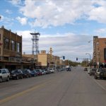 Image of main street small town USA