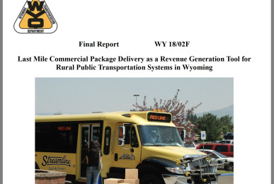Thumbnail of report cover for Final mile package delivery